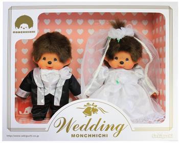 Sekiguchi Monchhichi Hochzeitspaar 260900