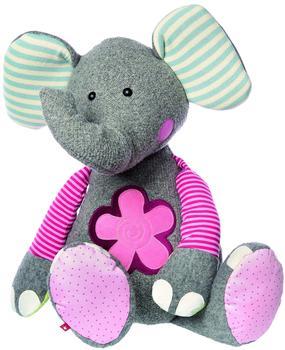 Sigikid Sweety - XXL Patchwork Elefant 80 cm