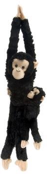 Wild Republic Hängender Chimpanze mit Baby 51cm