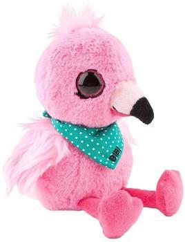 DEPESCHE Snukis Kuscheltier Flamingo Bibi der 18 cm