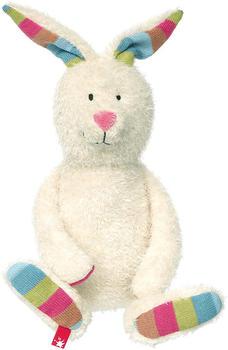 Sigikid Patchwork Sweety Hase weiß 34 cm