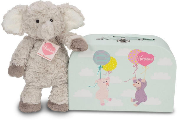Teddy Hermann Herzekind - Elefant Smartie im Koffer