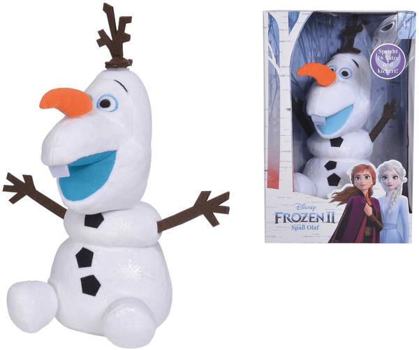 Disney Nicotoy Eiskönigin II Olaf Activity Plüsch