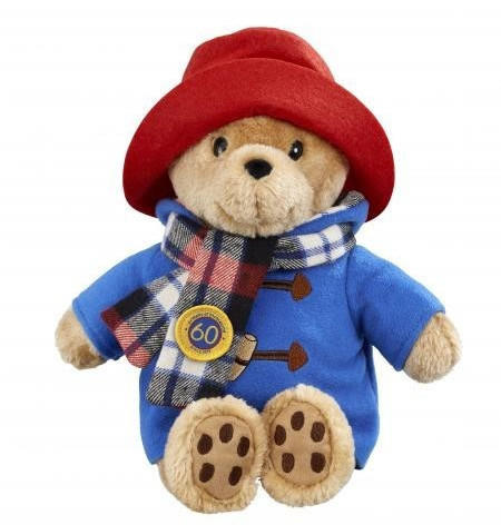 Rainbow Designs Paddington Bear with Scarf 60th Anniversary