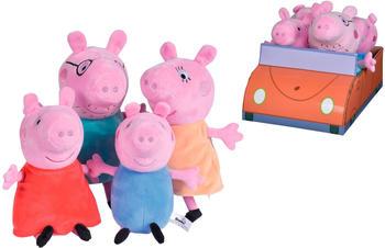Simba Peppa Pig Familienset im Auto 109261006