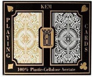 KEM Arrow Poker Regular Black and Gold