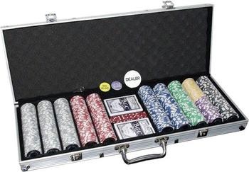 Dilego Pokerkoffer 500 Laser Pokerchips Poker Komplett Set