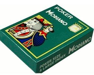 Modiano Poker Cristallo Jumbo-Index