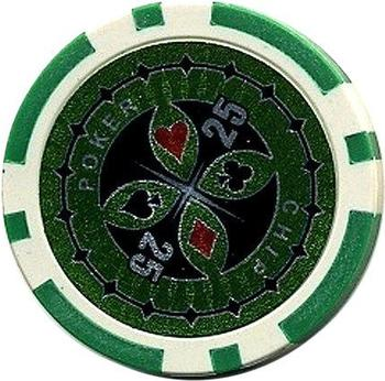 Dilego 50 Poker Chips Wert 25 - 11 g