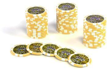 Dilego 50 Poker Chips Wert 1000 - 11 g