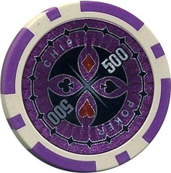 Dilego 50 Poker Chips Wert 500 - 11 g