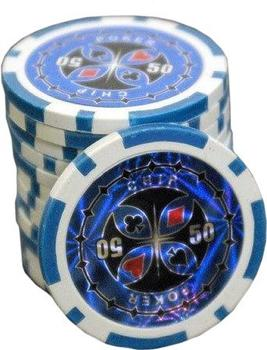 Dilego 50 Poker Chips Wert 50 - 11 g