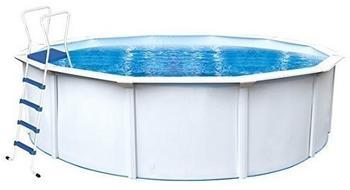 pool friends Pool Set Styria oval 490 x 300 x 120 cm mit Sandfilter (12245)