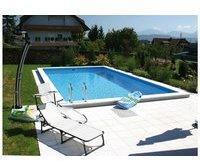 Summer Fun Styroporbecken Elba mit Edelstahl-Leiter 600 x 300 x 150 cm