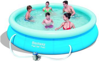 Bestway Fast Pool Set 366 x 76 cm mit Filterpumpe (57274)
