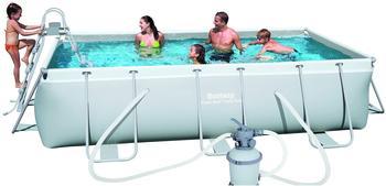 Bestway Frame Pool Set 404 x 201 x 100 cm mit Sandfilter (56442)