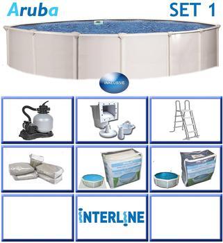 INTERLINE Pool ARUBA Ø 4,60 m x 1,22 m, Set 1