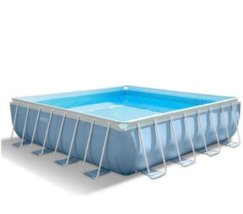 Intex Prism Frame Pool 427 x 427 x 107 cm inkl. GS-Pumpe