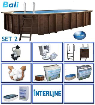 Interline Bali 640 x 420 x 138cm (Set 2)