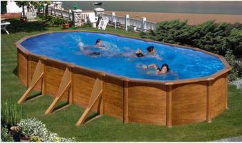 Summer Fun Ravenna Ovalpool-Set 610 x 375cm