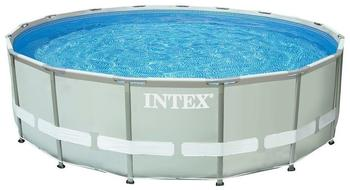 Intex Frame Pool Set Ultra-Rondo I Ø 488 x 122 cm grau