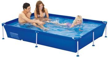Jilong Passaat Blue 188 - Stahlrahmenbecken, rechteckiger Pool 188x127x42cm
