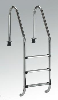 Summer Fun Edelstahl-Tiefbeckenleiter 120 cm