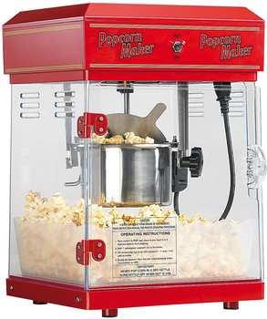 """Rosenstein & Söhne Profi-Popcorn-Maschine """"Cinema"""" mit Edelstahl-Topf"""