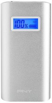 PNY Powerpack Alu Digital 5200 mAh silber