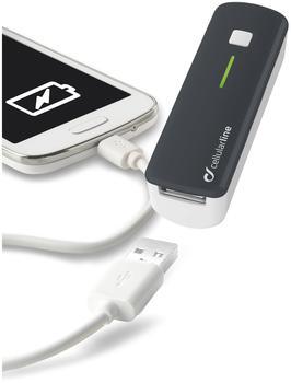 Cellular Line POCKETCHGSMARTP mobiles Akku-Ladegerät - USB pink