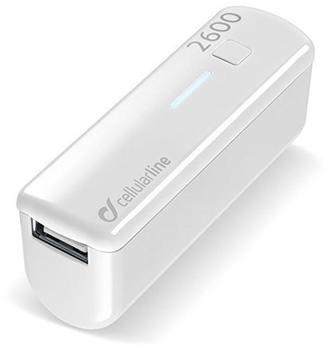 Cellular Line Pocket Charger 2600 weiß