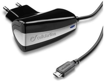 Cellular Line CACHMICROUSBTAB micro-USB Ladegerät für Smartphone/Tablet