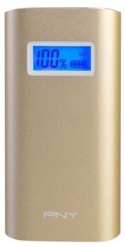 PNY Powerpack Alu Digital 5200 mAh gold