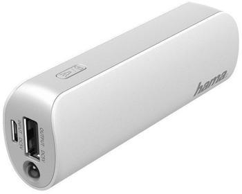 Hama Power Pack Pipe 2600mAh grau/weiß