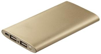 Hama Power Pack Premium Alu 5000 mAh gold