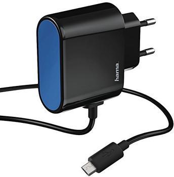 Hama 00173600 Innenraum Schwarz - Blau Ladegerät für Mobilgeräte (00173600)