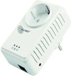 Allnet 500 Mbit HomePlug AV Pass Through Einzeladapter (ALL168255SINGLE)