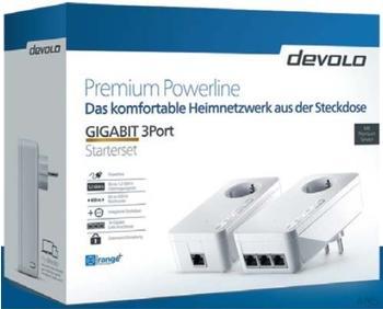devolo Premium Powerline Gigabit 3Port Set