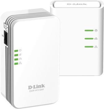 D-Link PowerLine AV 500 Wireless N Mini Starter Kit (DHP-W311AV)