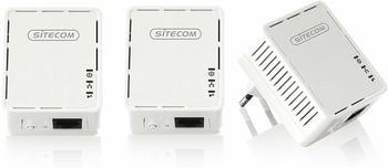 Sitecom Mini Homeplug 500 Mbps Triple Pack (LN-540)