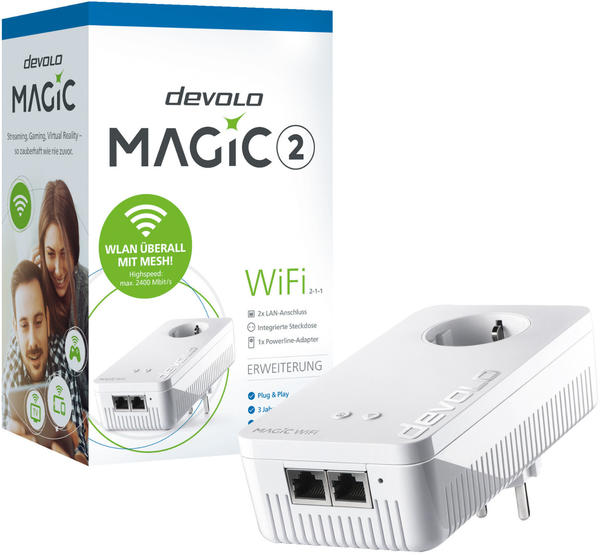 devolo Magic 2 WiFi Einzeladapter (8375)