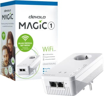 devolo Magic 1 WiFi Einzeladapter (8351)