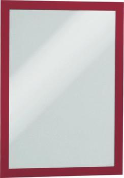 DURABLE MAGAFRAME A4 rot (2 Stück) (4872-03)