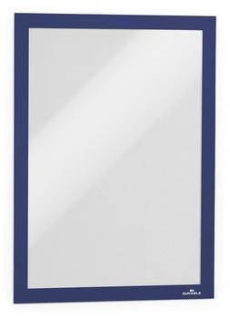 DURABLE MAGAFRAME A4 dunkelblau (2 Stück) (4872-07)