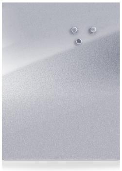 Zeller Magnet-Schreibtafel 60x80cm edelstahl
