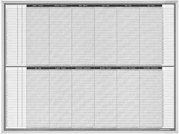 magnetoplan Personal- und Projektplaner 1200x900mm