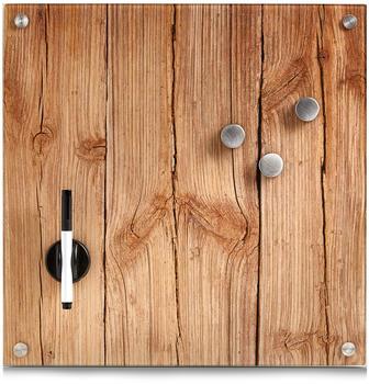 Zeller Memo-Board wood 40x40cm (11650)