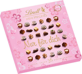 Lindt Mini-Pralinés Emotional Edition Rosa (180g)