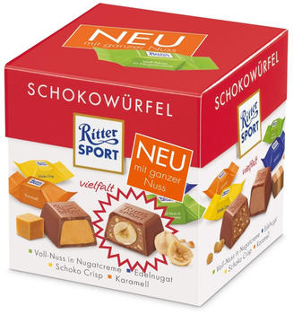 Ritter-Sport Schokowürfel Vielfalt (192g)