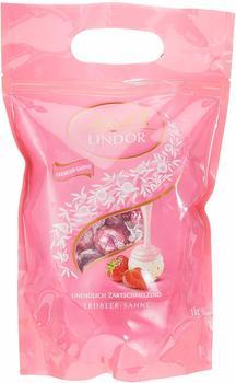 Lindt Lindor Erdbeer-Sahne (1kg)